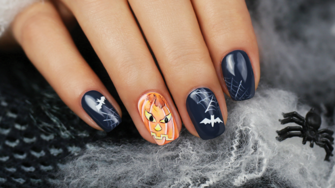 Nail Art Design for Halloween