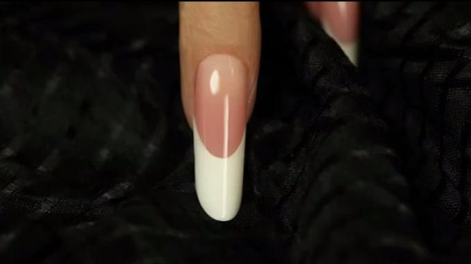 Pipe nail with gel