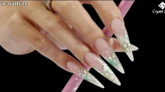 Brilliant Gel Stiletto and Gel Design