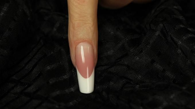 Marilyn nail shape with gel