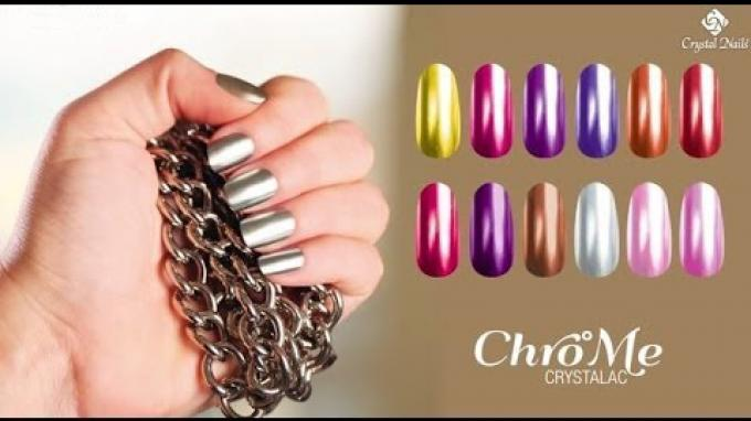Chro°Me CrystaLac gel polish